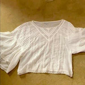 American Eagle cotton loose sleeve top